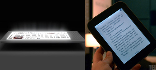 Kindle-Nest and Nook Touch